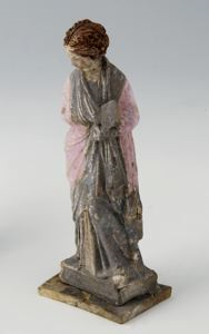 Image of Tanagra Figurine of Standing Woman 1281
