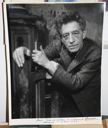 Image of Giacometti at his Easel