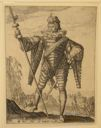 Image of Lieutenant-Colonel, from set of Officers & Soldiers, after Hendrick Goltzius
