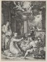 Image of Adoration of the Shepherds (The Early Life of the Virgin, pl. 3)